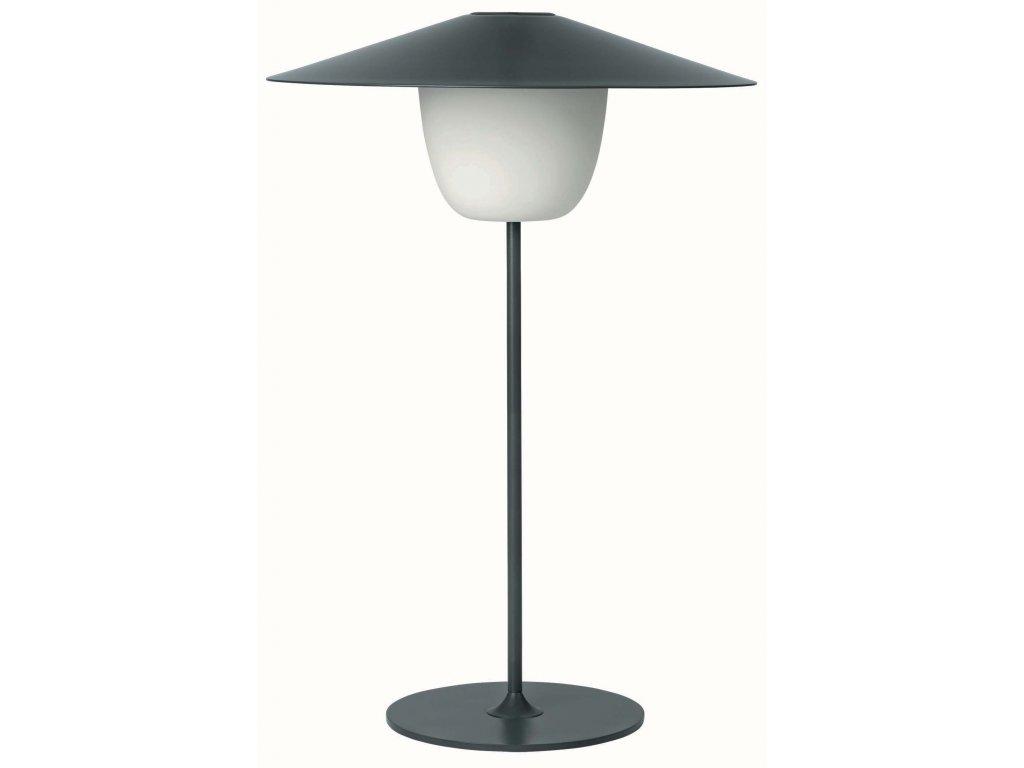 Přenosná LED lampička střední černá BLOMUS