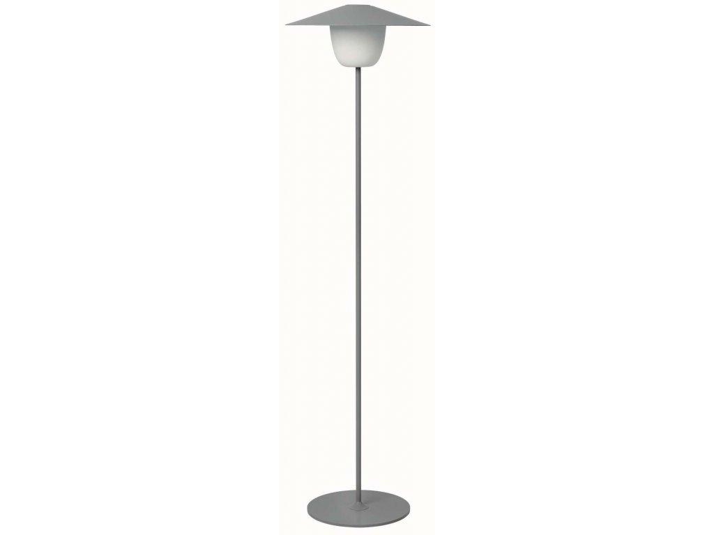 Přenosná LED lampička vysoká šedá BLOMUS