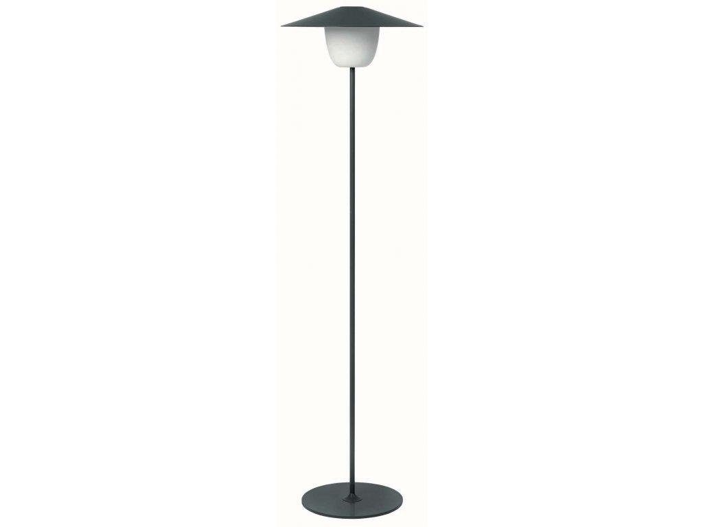 Přenosná LED lampička vysoká černá BLOMUS