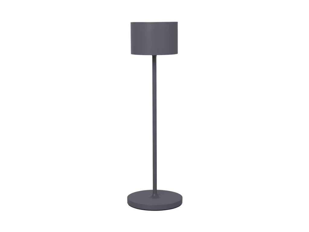 Přenosná LED lampička šedá BLOMUS