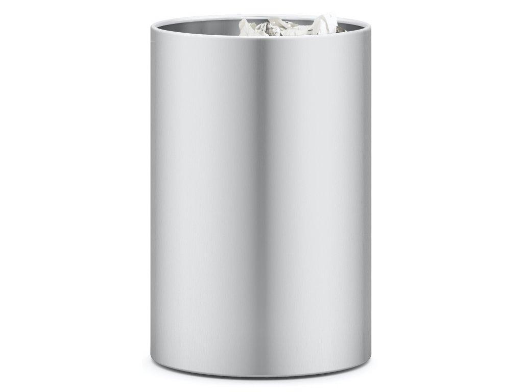 Odpadkový koš, broušený nerez, Civos ZACK