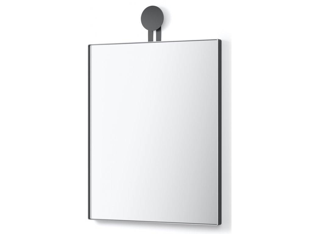 Nástěnné zrcadlo hranaté nerezové černé Morma ZACK
