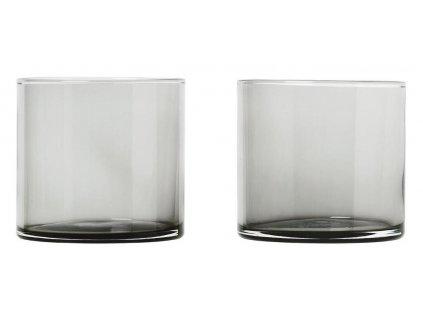 Set 2 ks sklenice, 200 ml, kouřové BLOMUS