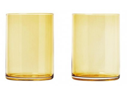 Set 2 ks sklenice,220 ml, zlaté BLOMUS