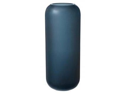 Váza velká, skleněná, modrá BLOMUS