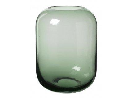 Váza střední, skleněná, zelená BLOMUS