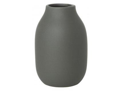 Váza malá, porcelánová, khaki BLOMUS