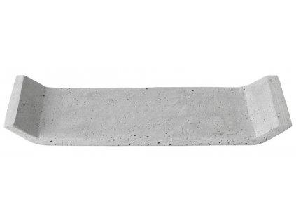 Dekorační odkládací tác, betonový, malý, světle šedý BLOMUS