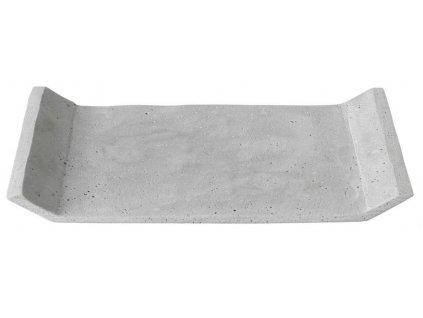 Dekorační odkládací tác, betonový, střední, světle šedý BLOMUS