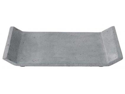 Dekorační odkládací tác, betonový, střední, tmavě šedý BLOMUS