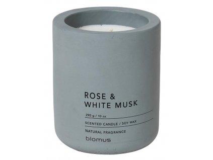 Vonná svíčka ze sojového vosku s dřevěným víkem, antracit BLOMUS