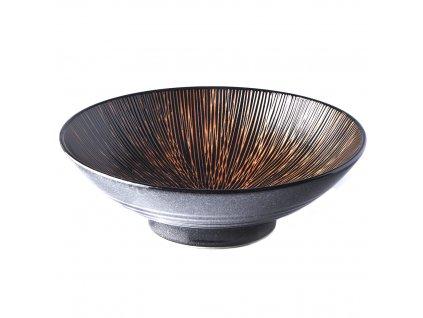 Ramen mísa Bronze Converging 24 cm 1,2 l MADE IN JAPAN