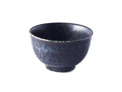 Made in Japan Miska na čaj BB Black 9 cm 160 ml