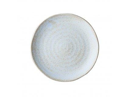 Made in Japan Mělký talíř Fade bledomodrý 24 cm