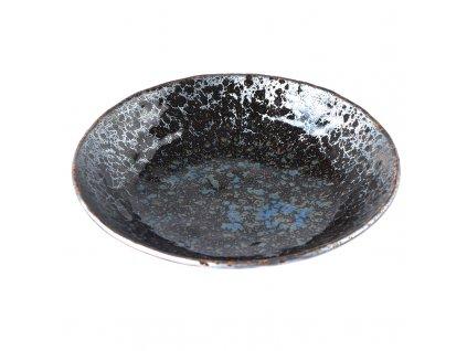 Velká mělká mísa Black Pearl 24 cm 1 l