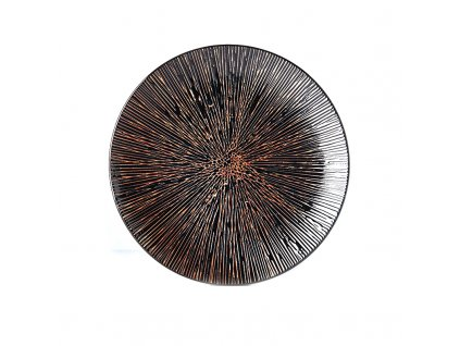 Mělký talíř Bronze Converging 29 cm MADE IN JAPAN