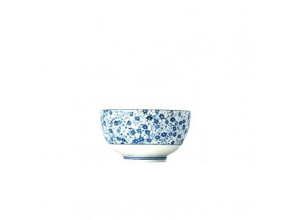 Made in Japan Malá miska Blue Daisy 13,5 cm 500 ml