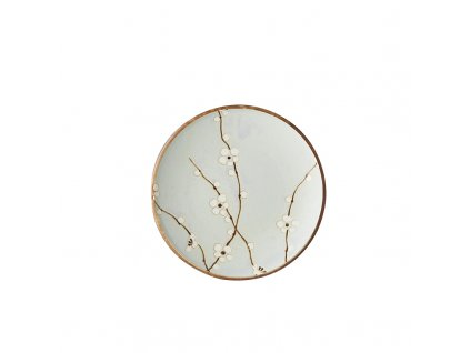 Made in Japan Předkrmový mělký talíř LT Blue Blossom 20 cm