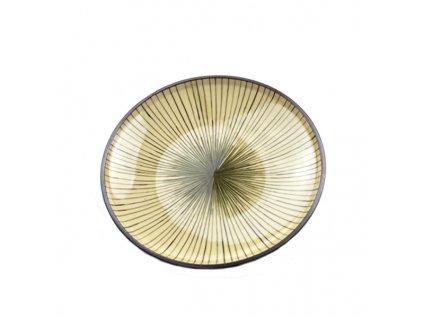 Made in Japan Mělký talíř Dk Green 20 cm