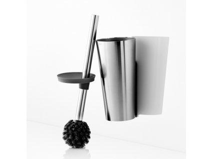 Závěsný WC kartáč z nerezové oceli, Eva Solo