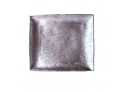 Made in Japan Velký obdélníkový talíř METEORITE 30 x 26 cm