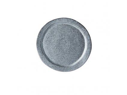 Made in Japan Kulatý talíř Craft Black 24,5 cm