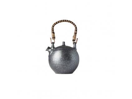 Made in Japan Čajová konvice se sítkem Craft Black 450 ml