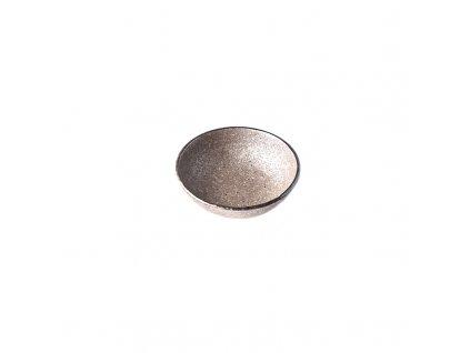 Malá miska Earth Black 13 cm 200 ml MADE IN JAPAN