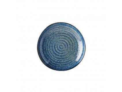 Made in Japan Mělký talíř Indigo Blue 23 cm