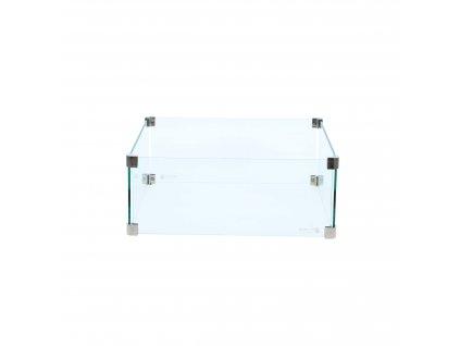 čtvercový skleněný set (vel. L)