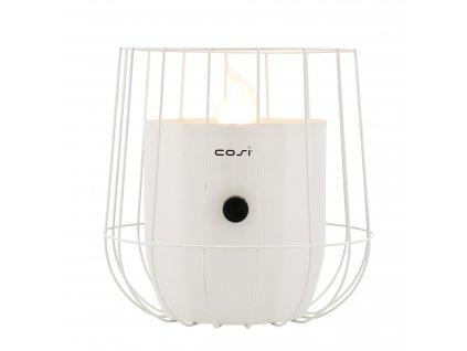 Plynová lucerna Cosiscoop Basket - bílá COSI