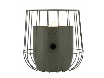 Plynová lucerna Cosiscoop Basket - olivová COSI