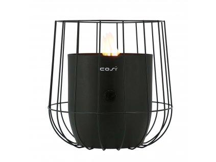 Plynová lucerna Cosiscoop Basket - černá COSI