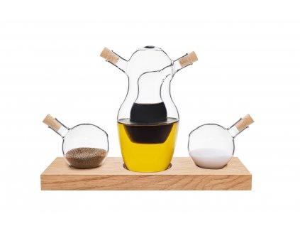 Cruet -  Olej, ocet, sůl a pepř CLAP DESIGN