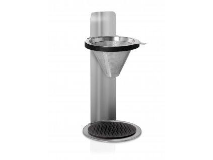 AdHoc Kávovar na překapávanou kávu s permanentním filtrem