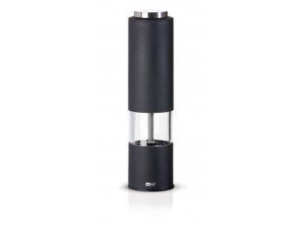AdHoc Elektrický mlýnek TROPICA - LED světlo, černý