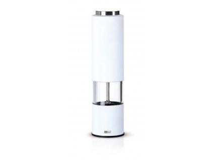 AdHoc Elektrický mlýnek TROPICA LED světlo, bílý