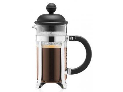 French press BODUM® CAFFETTIERA na 3 šálky 350 ml, černý