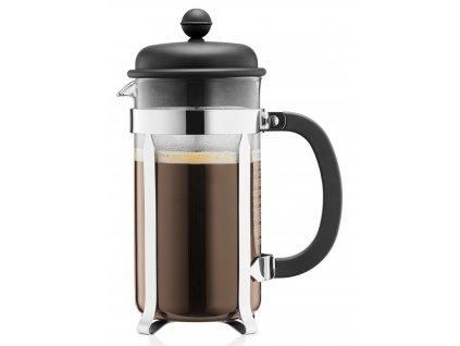French press BODUM® CAFFETTIERA na 8 šálků 1 000 ml, černý