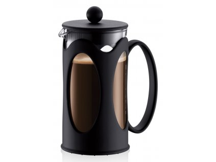 French press BODUM® KENYA na 3 šálky 350 ml, černý