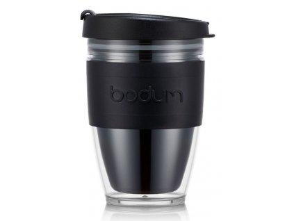 Cestovní hrnek BODUM® JOYCUP 250 ml, černý