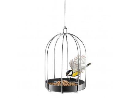 Závěsné krmítko pro ptáčky ve tvaru klícky, Eva Solo