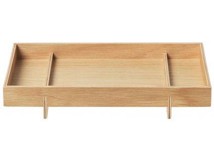 Blomus Malý dřevěný podnos ABENTO