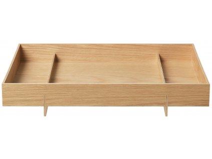 Blomus Velký dřevěný podnos ABENTO
