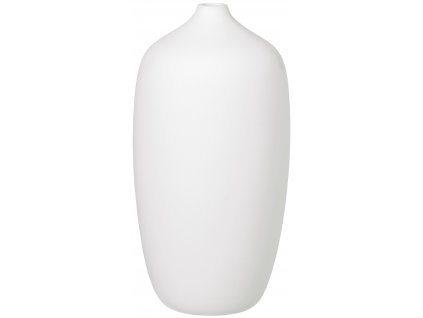 Blomus Váza bílá 13 cm vysoká CEOLA