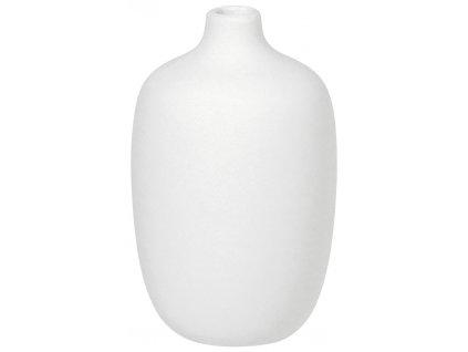 Blomus Váza bílá 8 cm nízká CEOLA