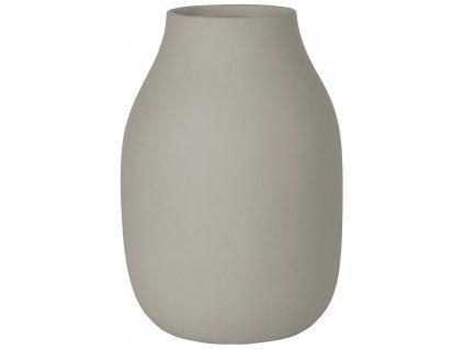 Blomus Váza hřejivě šedá velká COLORA