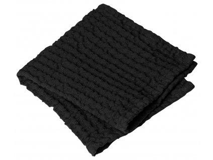 Blomus Set 2 ručníků černý CARO
