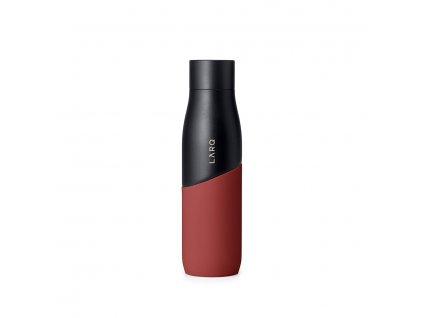 Antibakteriální láhev LARQ Movement, edice TERRA, Black / Clay 710 ml