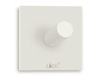 háček na ručníky čtvercový nerezový bílý větší DUPLO Zack